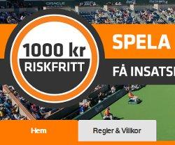 1000 kr riskfritt vad hos Expekt