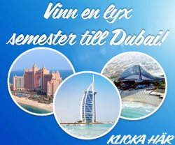Vinn en lyxresa till Dubai