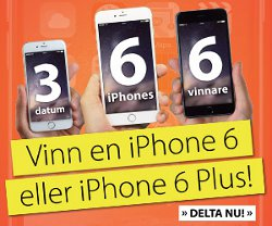 Vinn iPhone 6 eller 6 Plus