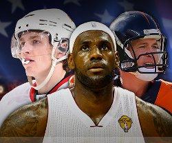 Vinn resa till New York + biljetter till NBA, NHL eller NFL