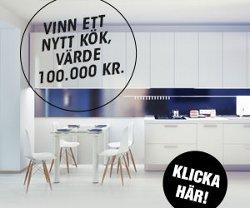 Vinn ditt drömkök för 100 000 kr