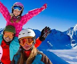 Vinn en skidvecka i Alperna