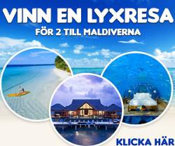 Vinn en resa för 2 till Maldiverna