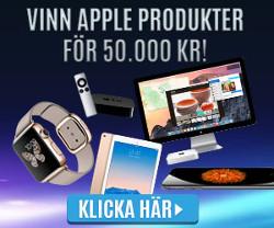 Vinn Apple produkter för 50 000 kr