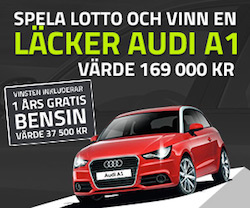 Vinn en Audi A1 inkl. 1 årsförbrukning av bensin