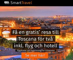 Få en resa för 2 till Toscana inkl. flyg och hotell