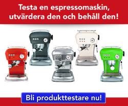 Vinn espressomaskinen Dream från Ascaso