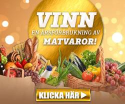 Vinn en årsförbrukning av matvaror