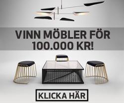 Vinn nya möbler för 100 000 kr
