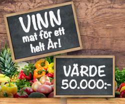 Vinn mat för 25 000 kr!