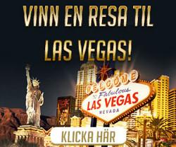 Vinn en resa till Las Vegas värd 100 000 kr