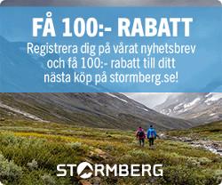 Vinn presentkort 1000 kr på Stormberg kläder