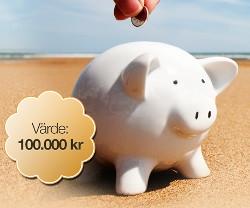 Vinn 100 000 kr att betala av lån med