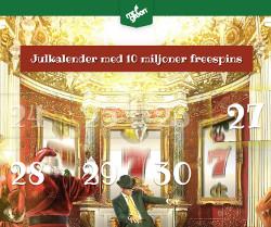 Få massor av freespins fram till jul