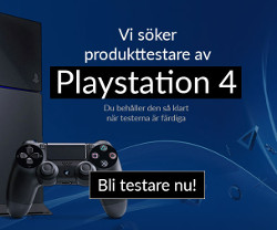 Vinn nya Playstation 4