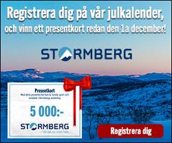 Stormbergs julkalender är igång