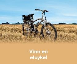 Vinn en elcykel